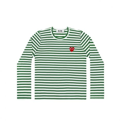 COMME DES GARCONS PLAY P1T163 3 GREEN 01